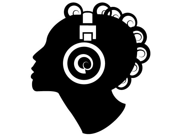 285-girl-listening-to-music-vector-clip-art