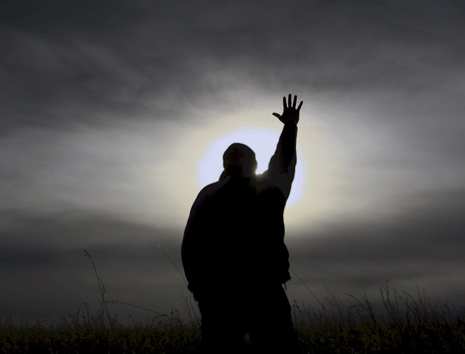 man-praying